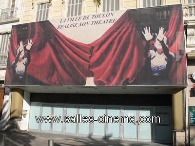 L'ancien cinéma Pathé Liberté (ex-Gaumont) Place de la Liberté à Toulon