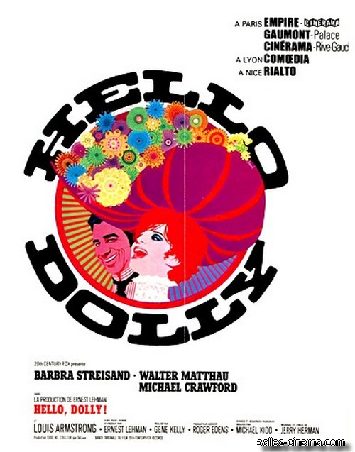 Sortie de HELLO DOLLY ! le 19/12/69
