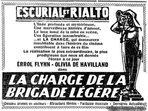 Pavé de presse LA CHARGE DE LA BRIGADE LEGERE dans le tandem le 26/2/37