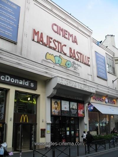 Cinéma Majestic Bastille à Paris  Salles-cinema.Com