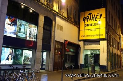 Façade du cinéma Pathé Cordeliers à Lyon.