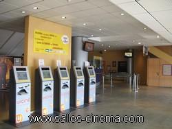 Cinémas Pathé Belle-Épine à Thais: les caisses automatiques