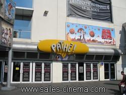 Cinémas Pathé Belle-Épine à Thais: l'entrée du multiplexe.