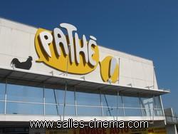 Pathé Belle-Epine à Thiais: enseigne du cinéma.