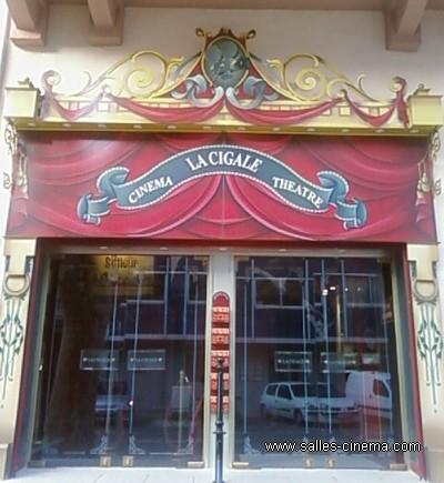 Cinéma La Cigale à Cavaillon, dans le Vaucluse  Salles-cinema.Com
