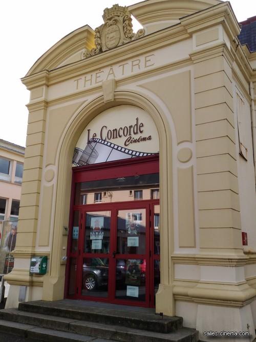 Cinéma art et essai le Concorde à Pont-l\'Evêque (Normandie) | Salles ...