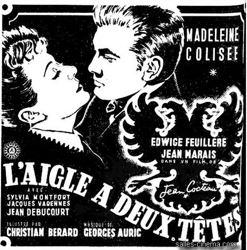 L'Aigle à deux têtes de Jean Cocteau