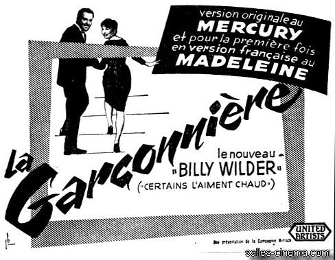 La Garçonnière de Billy Wilder