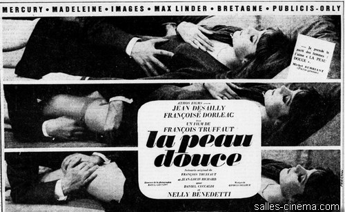 La Peau douce de François Truffaut