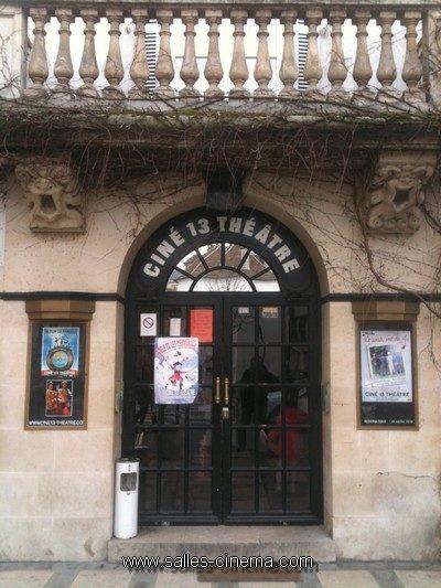 Ciné-Théâtre 13 à Montmartre - www.salles-cinema.com