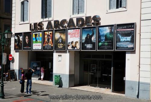 Cin ma al s les arcades salles cinema com for Cinema a salon