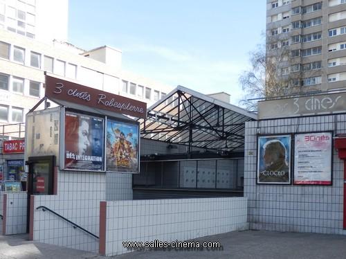 Cinéma Les 3 Robespierre à Vitry,sur,Seine