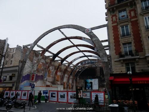 Cinéma Gaumont Alésia en travaux