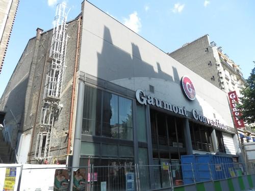 Le cinéma Gaumont Convention en travaux