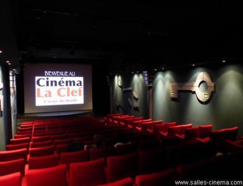 Fermeture du cinéma La Clef à Paris.