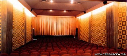 Salle du cinéma Gaumont Nice devenu Pathé Masséna