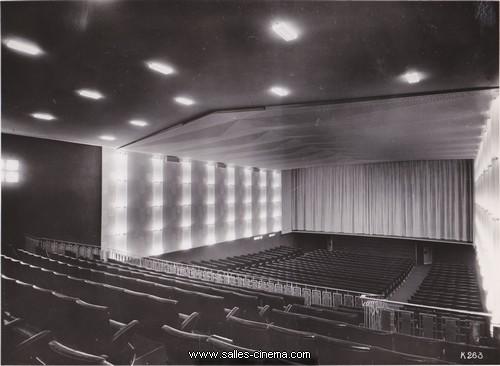 Salle de cinéma du Gaumont Palace à Nice