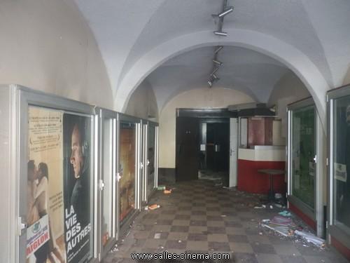 Hall du cinéma Le Bonaparte à Ajaccio