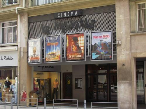 Fermeture du cinéma Le Melville à Rouen