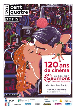 Exposition Gaumont: 120 ans de cinéma