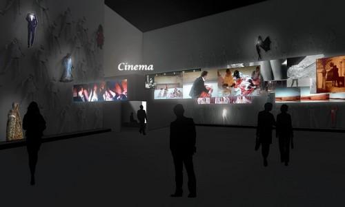 Exposition Gaumont: 120 ans de cinéma - 104 CentQuatre à Paris.