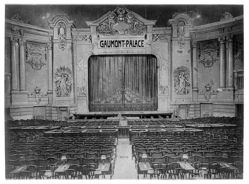 La salle du Gaumont Palace, Collections du musée Gaumont