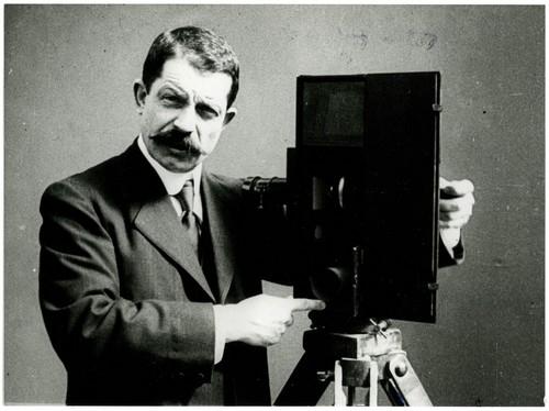 Portrait de Leon Gaumont en 1905, Collections du musée Gaumont