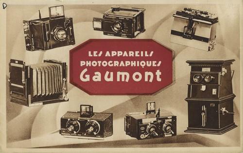 Les appareils photographiques Gaumont, Collections du musée Gaumont.