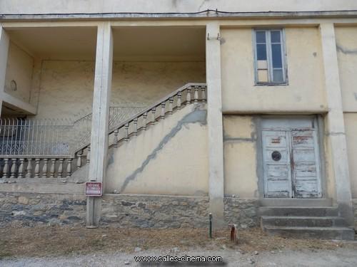 Détails de l'ancien cinéma L'Aiglon à Corté