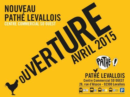 Ouverture du cinéma Pathé à Levallois