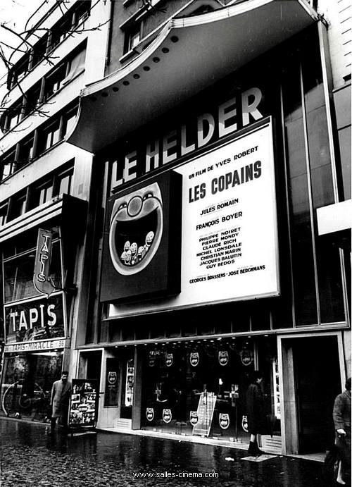 Ancien cinéma Le Helder à Paris