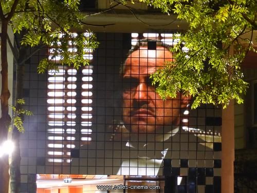 Façade du Cinéma Les Fauvettes à Paris, avenue des Gobelins