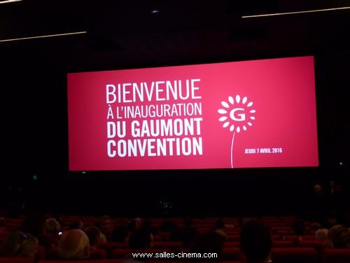 Inauguration du cinéma Gaumont Convention à Paris