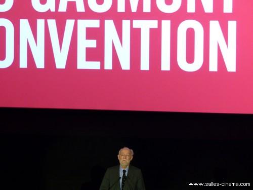 Nicolas Seydoux à l'inauguration du cinéma Gaumont Convention à Paris