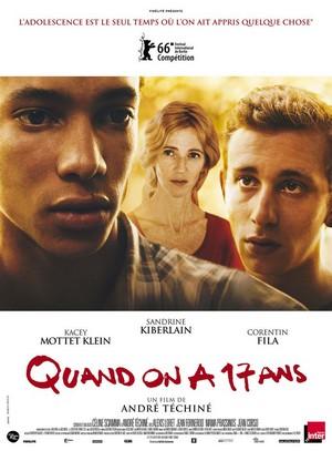Quand on a 17 ans, un film d'André Téchiné