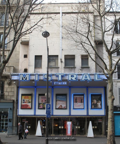 Cinéma Mistral (Ancien Rytmann) à Paris