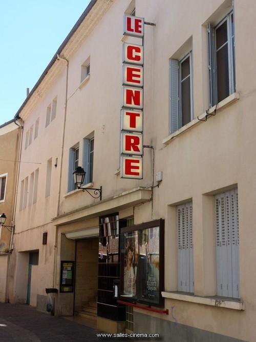 Façade du cinéma Le Centre à Gap