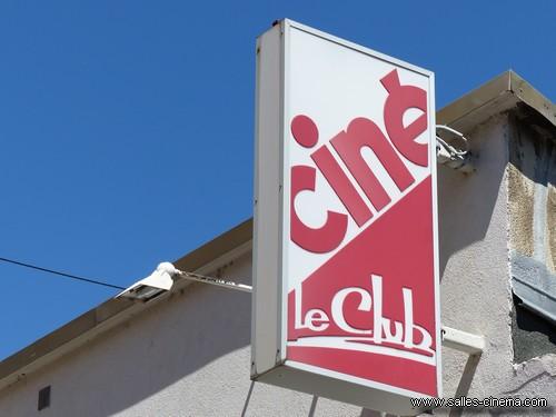 Enseigne du cinéma Le Club à Gap (Hautes-Alpes)