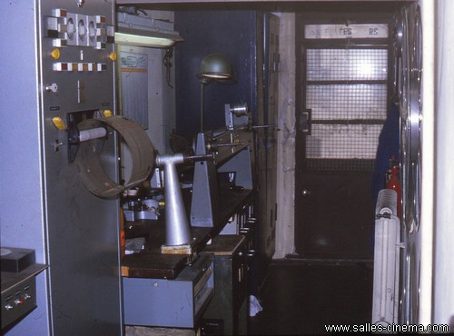 Salle de montage du cinéma Gaumont Lyon