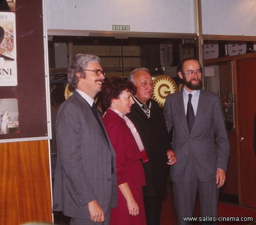 Daniel Toscan du Plantier, Joseph Losey et Nicolas Seydoux