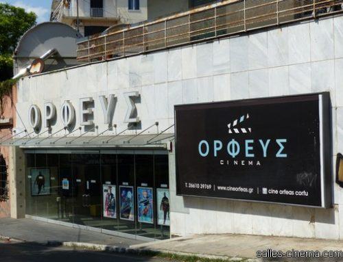 Cinéma Orpheus à Corfou