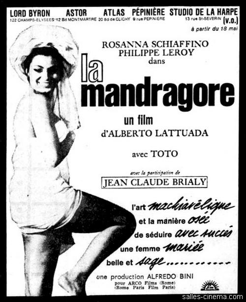 La Mandragore d'Alberto Lattuada