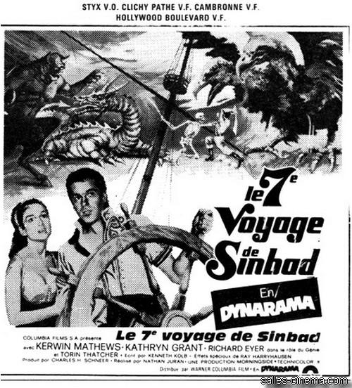 Le Septième voyage de Sinbad de Nathan Juran