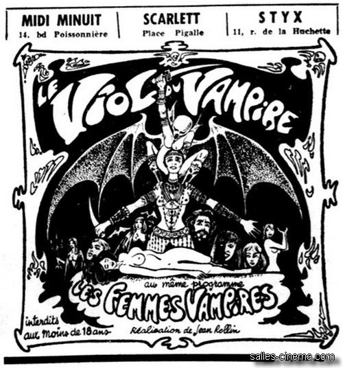 Le Viol du vampire de Jean Rollin