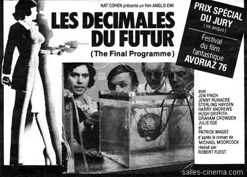 Les Décimales du futur de Robert Fuest