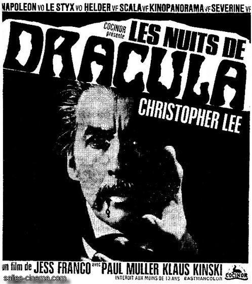 Les Nuits de Dracula de Jesús Franco