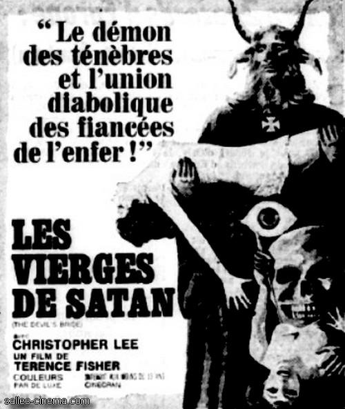 Les Vierges de Satan de Terence Fisher