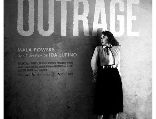 Outrage: une femme en fuite.