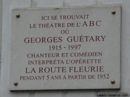 Théâtre de l'ABC à Paris