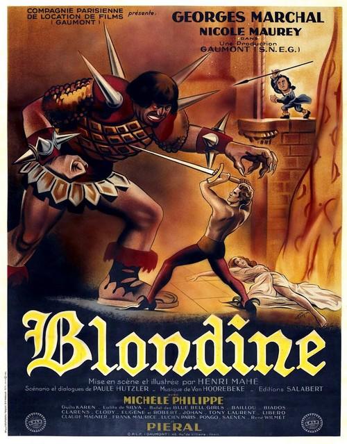 Blondine, un film d'Henri Mahé